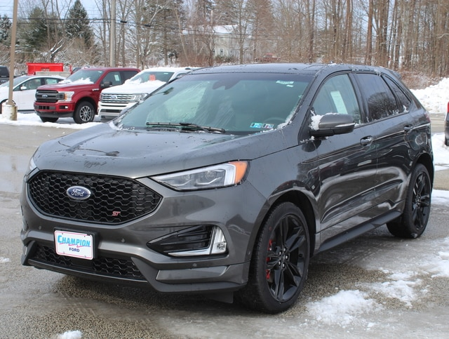New 2019 Ford Edge ST 401A w/ Navigation, Twin Panel Moonroof, Cold Weather & ST Performance Brake Pkgs. AWD / 4WD 2.7L V6 EcoBoost  SUV / Crossover For sale in Edinboro, PA