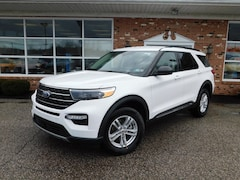 New 2020 Ford Explorer XLT Luxury 202A  7 Passenger w/ Activex / Leather Bucket Seats,Class III Trailer Tow Pkg.  Ford Co-Pilot 360,  FordPass Connect WiFi HotSpot  &  Sync3 Bluetooth System  4WD / 4x4 / AWD  2.3L I4  EcoBoost  SUV / Crossover for sale in Edinboro, PA