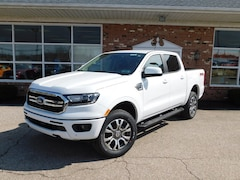 New 2019 Ford Ranger Lariat 501A w/ Technology & FX4 Off Road Pkgs. Navigation,  Adaptive Cruise,  B&O Premium Sound, BLIS Blind Spot Info System w/ Cross Traffic Alert,  FordPass Connect WiFi Hotspot & Sync3 Bluetooth System  SuperCrew  4x4 / 4WD  2.3L I4  EcoBoost  Truck for sale in Edinboro, PA