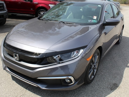 Featured used  2020 Honda Civic EX Heated Cloth Buckets  Adaptive Cruise  Bluetooth Sedan for sale in Edinboro, PA