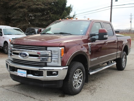 Featured used  2017 Ford Super Duty   F250 Lariat Ultimate Pkg. 608A with Fx4 Off Road, Navigation, Twin Panel Moonroof, Heated & Cooled Bucket Seats w/ Console Crew Cab SWB 4x4 / 4WD  6.7L Power Stroke Diesel Truck for sale in Edinboro, PA