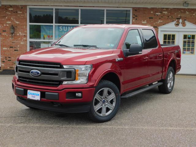 New 2018 Ford F-150 XLT Luxury 302A w/ Sport Appearance,    Navigation & Heated Bucket Seats SuperCrew SWB 4x4 / 4WD 2.7L V6 EcoBoost  Truck  For sale in Edinboro, PA