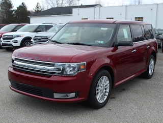2019 Ford Flex SEL 202A w/ Navigation, Multi Panel Moonroof & MonoChromatic Roof 7 Passenger AWD / All Wheel Drive / 4x4 / SUV / Crossover