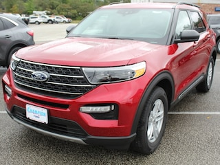2021 Ford Explorer XLT 202A CoPilot360+  6 Pass  Nav Leather Sync3 SUV / Crossover