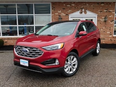 New 2020 Ford Edge Titanium 301A w/ Panoramic Vista Roof & Navigation AWD / 4WD 2.0L EcoBoost  SUV / Crossover for sale in Edinboro, PA