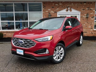 2020 Ford Edge Titanium 301A w/ Panoramic Vista Roof & Navigation AWD / 4WD 2.0L EcoBoost  SUV / Crossover