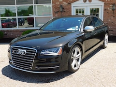 Used  2013 Audi S8 S8 4.0T Quattro Tiptronic w/ Bang & Olufsen Advanced Sound System, Full Leather Pkg.  Audi MMI Navigation System, Sunroof,  S8 Cold Weather Pkg.   4.0L 520 Hp. Twin Turbo Charged V8 with Quattro All Wheel Drive System with Sports Differential Sedan for sale in Edinboro, PA
