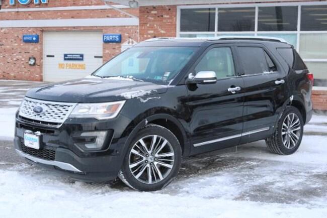 Used 2017 Ford Explorer Platinum SUV for Sale in Edinboro