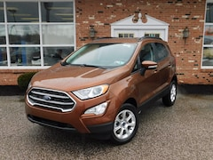 New 2020 Ford EcoSport SE 200A with SE Convenience Pkg.  Navigation,  Power Moonroof, Heated Bucket Seats, FordPass Connect WiFi HotSpot & Sync3 Bluetooth System 4WD / 4x4 / AWD  2.0L I4   SUV / Crossover for sale in Edinboro, PA