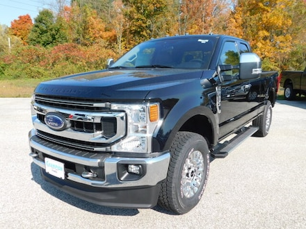 New 2020 Ford F250 Super Duty XLT Premium 603A Pkg. w/ Chrome Pkg. Heated Cloth 40/20/40 Split Bench,  18 in Chrome  Aluminum Wheels, Powerscope Trailer Tow Mirrors,  Trailer Tow Pkg.  Trailer Brake Controller, BLIS Blind Spot Info System,  Rear View Camera, FordPass Connect WiFi HotSpot, Sync3 Bluetooth System SuperCab SWB 4x4 / 4WD 7.3L Gas V8 Truck For sale in Edinboro, PA