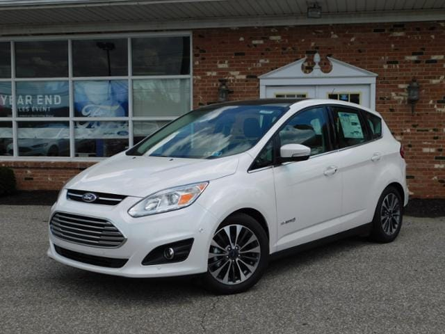 New 2018 Ford C-Max Hybrid Titanium 301A w/ Navigation, Moonroof & Heated Leather Seats FWD   Hatchback For sale in Edinboro, PA