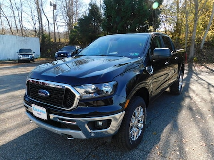 New 2019 Ford Ranger XLT Luxury 302A w/ FX4 Off Road, XLT Chrome Appearance & Tow Pkgs.  BLIS w/ Cross Traffic Alert,  FordPass Connect WiFi Hotspot & Sync3 Bluetooth System  SuperCrew 4x4 / 4WD  2.3L I4 EcoBoost Truck For sale in Edinboro, PA