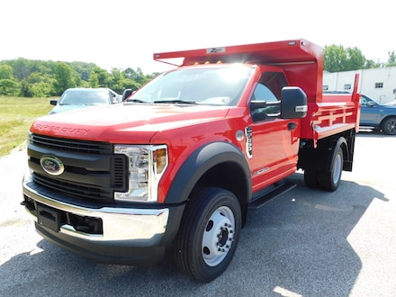 New 2019 Ford F550 Chassis Cab XL 660A with Zoresco 9' Dump Bed and XL Value Pkg.  XL Decor Pkg.  Power Equipment Group,  Payload Plus Pkg.  Snow Plow Prep Pkg.  High Capacity Trailer Tow Pkg. & Sync Bluetooth System  Regular Cab 145