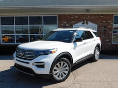 New 2020 Ford Explorer Limited 300A w/ Navigation, Twin Panel Moonroof, 20