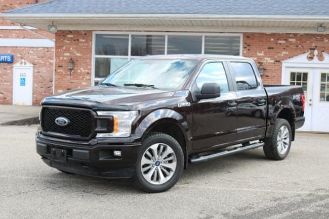 Used 2018 Ford F-150 Crew Cab Short Bed Truck for Sale in Edinboro