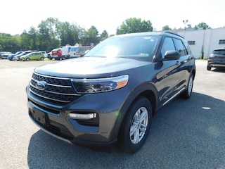 2020 Ford Explorer XLT Luxury 202A  7 Passenger   w/  Ford Co-Pilot 360 Assist + and Comfort Pkg.  Navigation,  Adaptive Cruise,  BLIS Blind Spot Info System,  Heated Leather Buckets,  FordPass Connect WiFi HotSpot  &  Sync3 Bluetooth System  4WD / 4x4 / AWD  2.3L I4  EcoBoost  SUV / Crossover