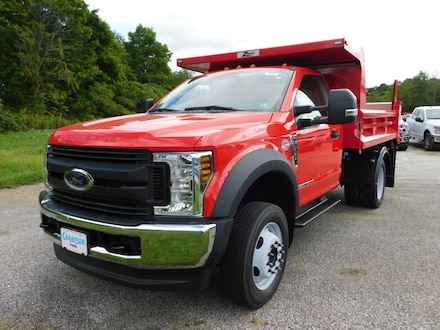 New 2019 Ford F550 Chassis Cab XL 660A with Zoresco 9' Dump Bed and XL Value Pkg. Truck For sale in Edinboro, PA