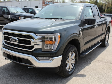 New 2021 Ford F150 XLT Luxury 302A Chrome Pkg Htd Buckets Sync4  4x4 Extended Cab Truck For sale in Edinboro, PA