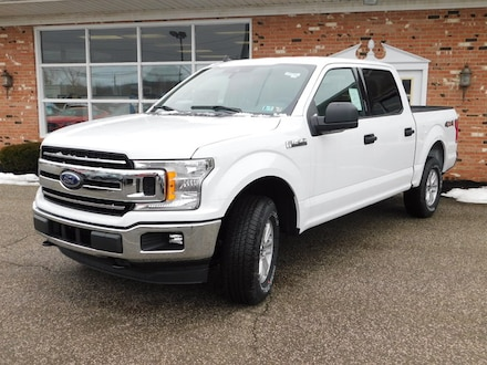 New 2019 Ford F150 XLT 300A w/ Rearview Camera,  FordPass Connect WiFi Hotspot & Sync3 Bluetooth System  Super Crew SWB 4x4 2.7L V6 Eco-Boost Truck For sale in Edinboro, PA