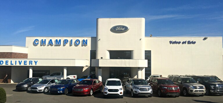 Champion Ford Erie >> New And Used Ford Dealer Erie Champion Ford Sales