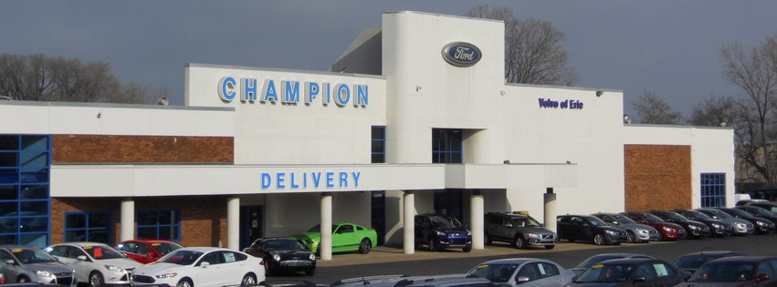 about champion ford sales new ford and used car dealer serving erie. Black Bedroom Furniture Sets. Home Design Ideas