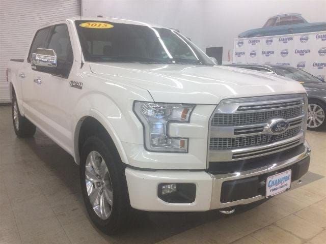 2015 Ford F-150 Platinum Truck