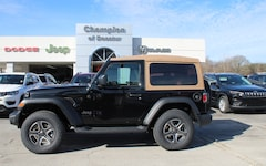 New Vehicles for sale 2020 Jeep Wrangler BLACK AND TAN 4X4 Sport Utility in Decatur, AL