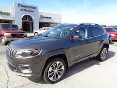 Used 2019 Jeep Cherokee Overland 4x4 SUV for sale in Athens, AL