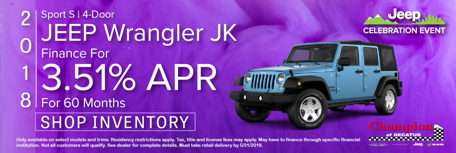 Champion Of Decatur, Inc. | New Chrysler, Dodge, Jeep, Ram ...