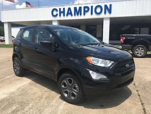 2018 Ford EcoSport S 4WD Sport Utility