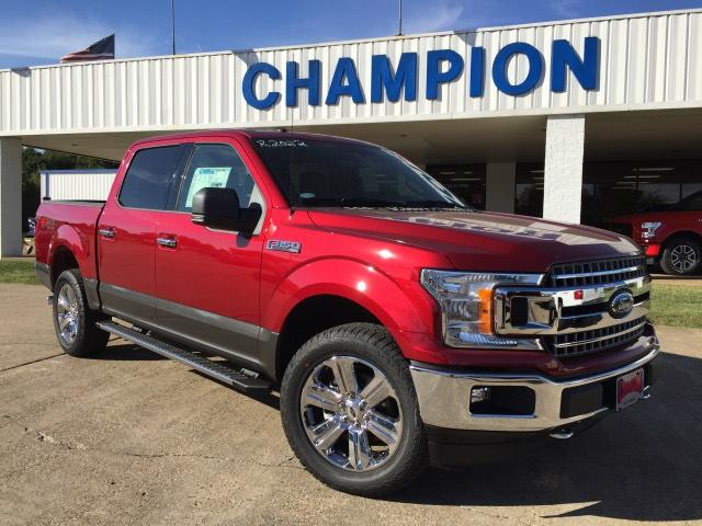 2018 Ford F-150 XLT 4WD Supercrew 5.5 Box Crew Cab Pickup