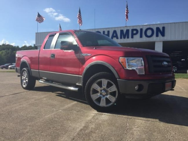2009 Ford F-150 4WD Supercab 145 FX4 Extended Cab Pickup