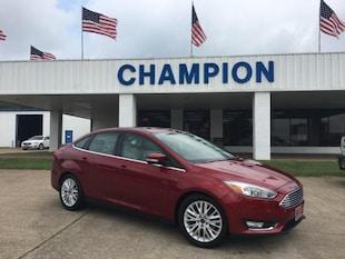 2017 Ford Focus Titanium Sedan Car