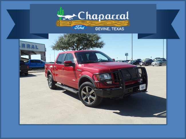 2012 Ford F-150 FX4 Truck SuperCrew Cab