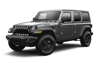 New 2021 Jeep Wrangler UNLIMITED WILLYS 4X4 Sport Utility in Horsham PA