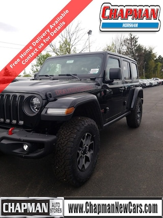 New 2020 Jeep Wrangler UNLIMITED RUBICON 4X4 Sport Utility in Horsham PA