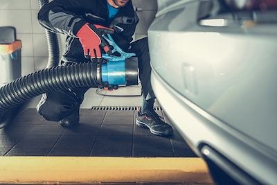 SMOG TEST FOR GAS ENGINE