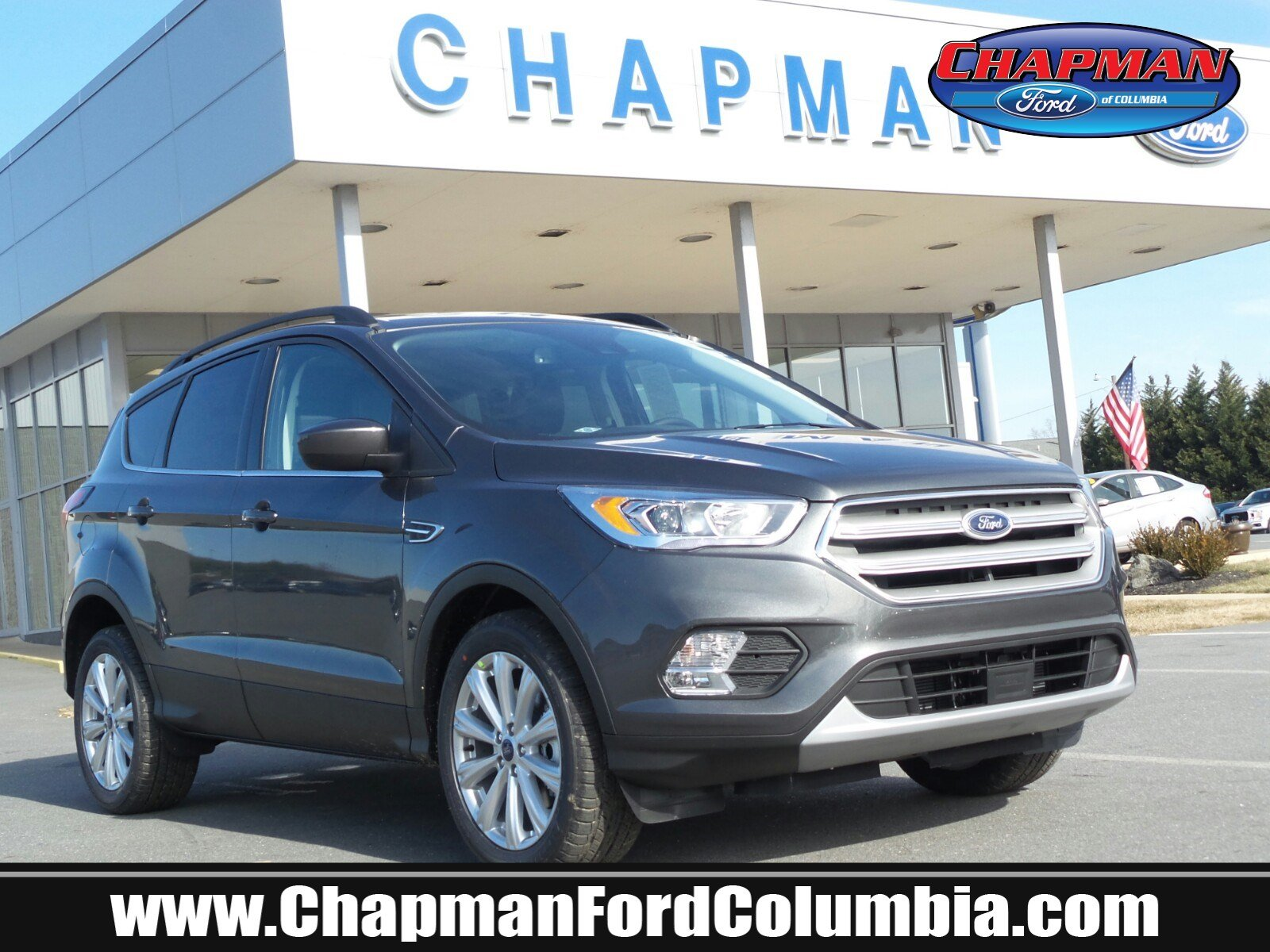 Chapman Ford Columbia >> New 2019 Ford Escape For Sale At Chapman Eht Nj Vin