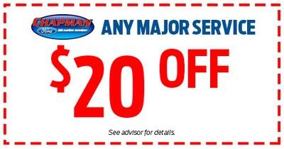$20 Off Any Major Service