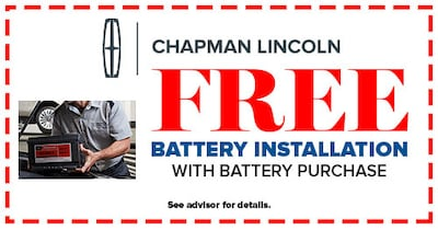 Free Battery Installation with Any Battery Purchase