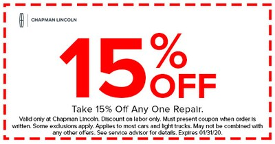 15% Off Any One Repair