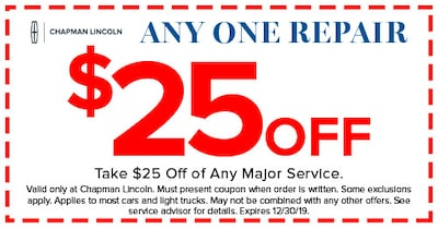 $25 Off Any One Repair