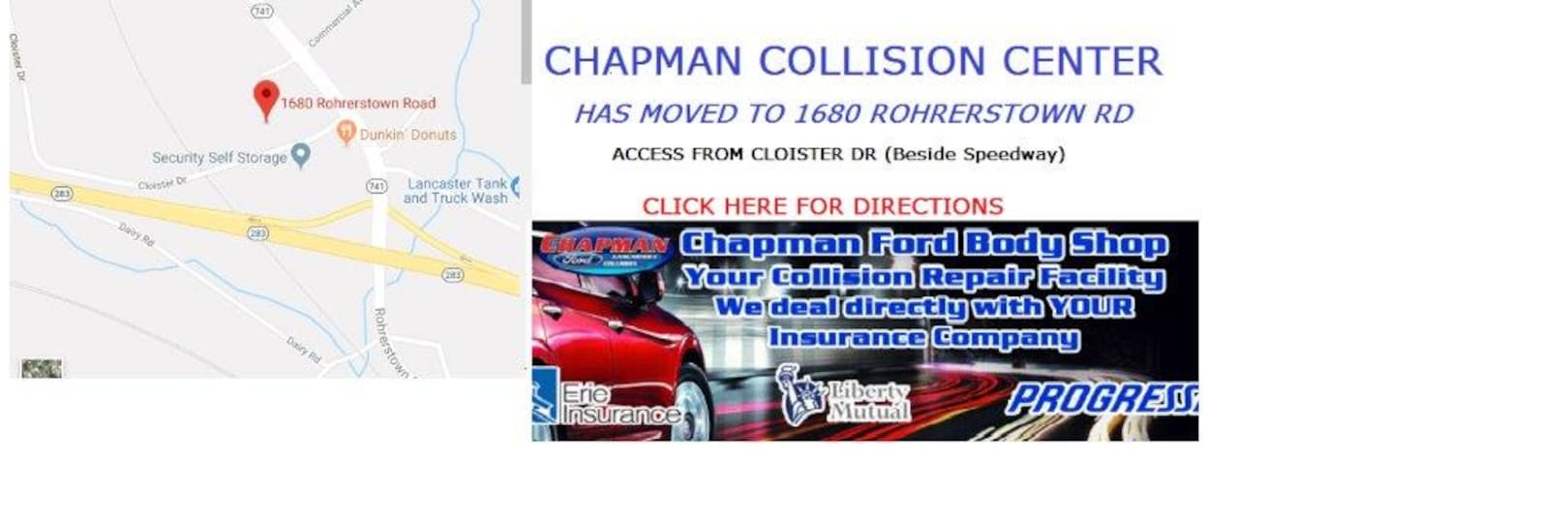 Chapman Ford Lancaster Pa >> Chapman Ford Lancaster, PA | Ford Dealership in East Petersburg PA