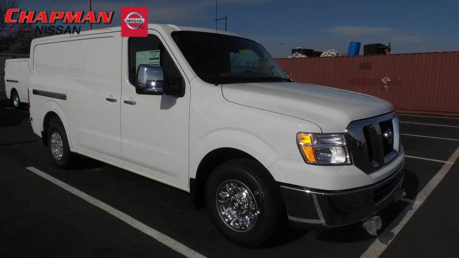 New 2018 Nissan NV Cargo NV3500 HD For Sale at Chapman
