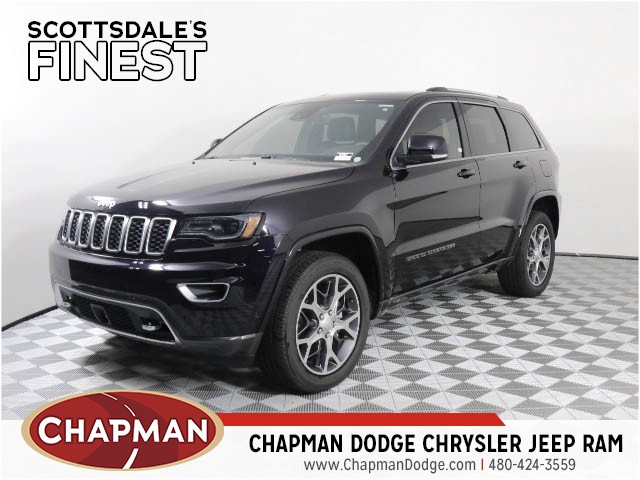 2018 Jeep Grand Cherokee STERLING EDITION 4X2 Sport Utility