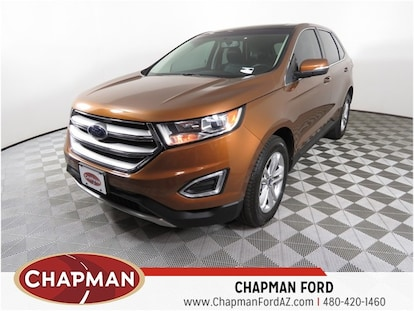 Used 2017 Ford Edge For Sale at Chapman Dodge Chrysler Jeep | VIN