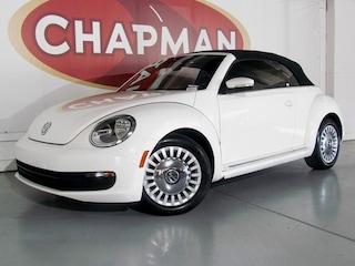 2013 Volkswagen Beetle 2.5L Pzev Convertible FWD