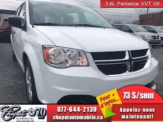 2019 Dodge Grand Caravan Canada Value Package Minivan