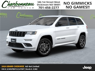 New 2020 Jeep Grand Cherokee LIMITED X 4X4 Sport Utility For Sale Dickinson ND
