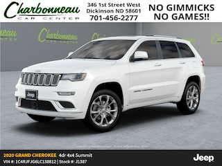 New 2020 Jeep Grand Cherokee SUMMIT 4X4 Sport Utility For Sale Dickinson ND